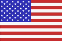 Umsatzsteuer USA - Flagge