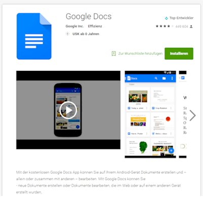 Google Docs Android App Download