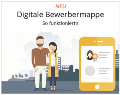 Wohnungssuchende können eine digitale Bewerbermappe anlegen