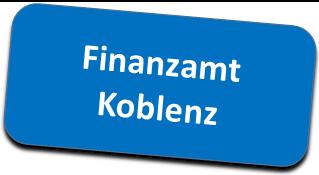 Informationen zu Formularen, Öffnungszeiten für Steuerpflichtige mit Wohnstättenfinanzamt Koblenz