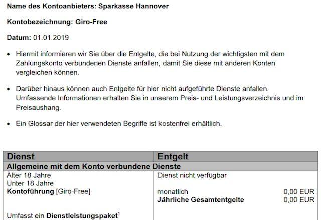 Sparkasse Hannover - das Giro-Free ist ein kostenloses Girokonto für Jugendliche bis 18 Jahre