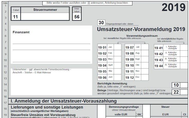 Nichtveranlagungsbescheinigung 2019 formular